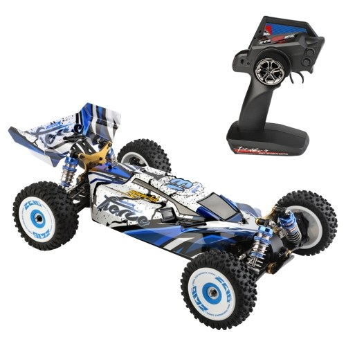 WLtoys 124017 RC Car Off-Road Car High Speed RC Crawler 1/12 2.4GHz Racing Car 75km/h 4WD RTR Metal Chassis