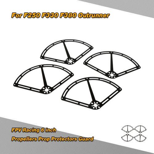 6 inch Propellers Prop Protectors Guard for QAV250 QAV330 QAV380 FPV Racing Quadcopter Multicopter