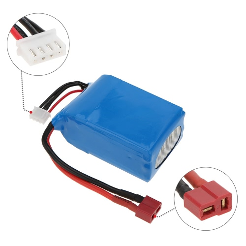 11.1V 1800mAh 30C 3S T Wtyk Akumulator Li-Po do QAV250 H250 200 240 260 280 F330 RC Quadcopter