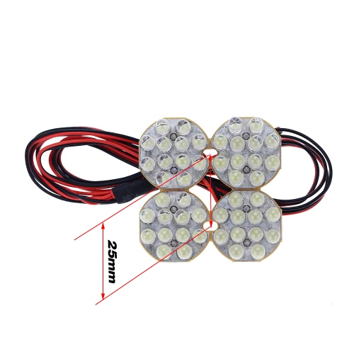 G.T.POWER LED Lighting System/Baja Light for 1/5 and 1/8 Off-Road Buggy RC Car