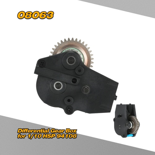 08063 Differential Gear Box for 1/10 HSP 94108 94188 Nitro Monster Truck RC Car