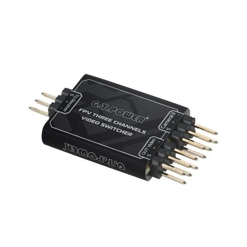 Модуль 3-канального видеомикшера GTPOWER 3-канальный видеопереключатель для камеры FPV