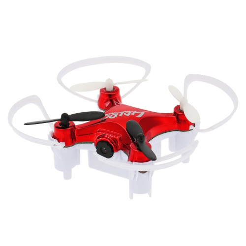 Original LIDI RC L7HW Mini WIFI FPV RC Quadcopter 0.3MP Cámara RC Aviones con Barómetro Set alta función