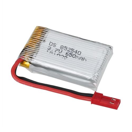 Original JXD 509G-22 3.7V 650mAh batería Li-po con JST Plug para JXD 509G RC Quadcopter