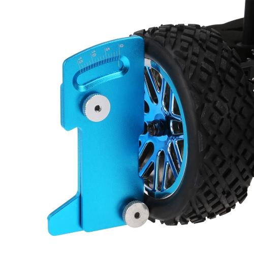Adjustable Ruler Adjusting RC Car Height & Wheel Rim Camber 15 Degrees Tools for 1/10 Tamiya HSP HPI RC Car
