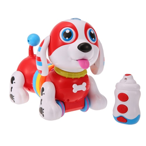 CANHUI TOYS BB396 IR RC Smart Sausage Cão Sing Dance Walking Robot Dog Eletrônica Eletrônica Pet Educational Kids Toy