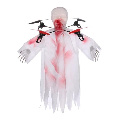 1031 Halloween Skull RC Drone 2.4G 4CH 6-axis Gyro Headless Mode Quadcopter