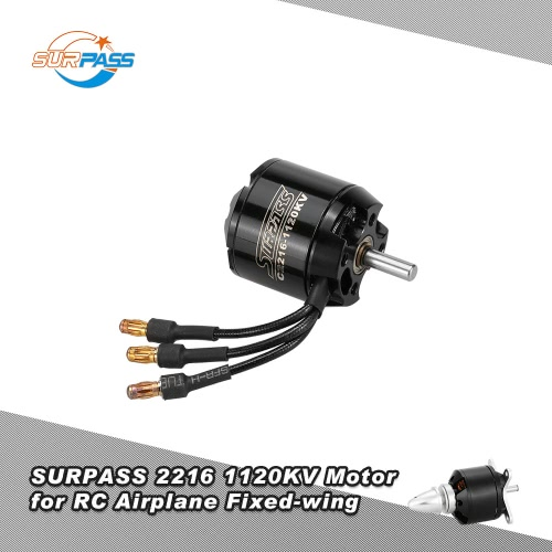 Original SURPASS High Performance 2216 1120KV 14 Poles Brushless Motor for RC Airplane Fixed-wing