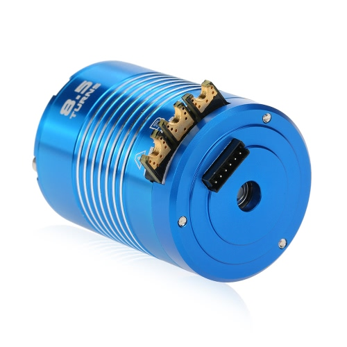 High Efficiency 540 8.5T 4100KV Sensored motor sin escobillas para 1/10 RC Car