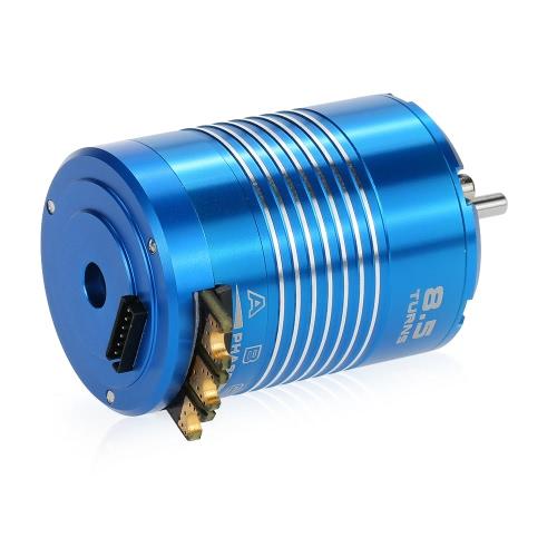 High Efficiency 540 8.5T 4100KV Sensored Brushless Motor for 1/10 RC Car