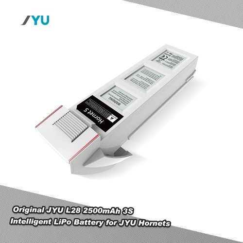 JYU L28 11.1V 2500mAh 3S Intelligent LiPo Battery for JYU Hornet S FPV RC Quadcopter Drone