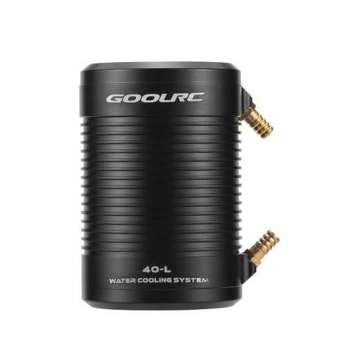 Original GoolRC 4092 1250KV Brushless Motor and 40-L Water Cooling Jacket Combo Set for 1000mm (or Above) RC Boat
