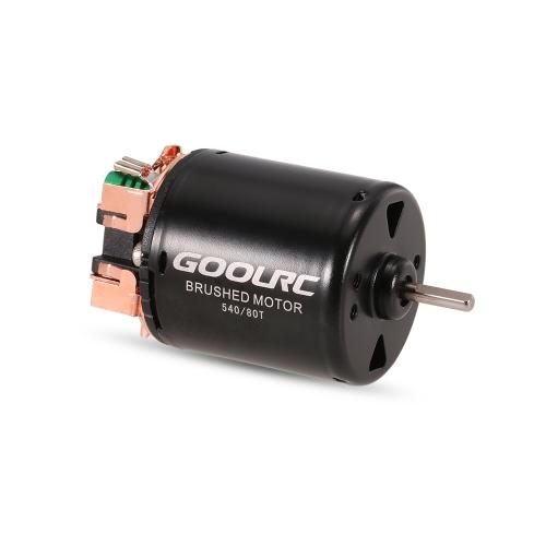 GoolRC 540 80T Brushed Motor с 40A ESC Combo для 1/10 осевого SCX10 RC4WD D90 RC гусеничный автомобиль
