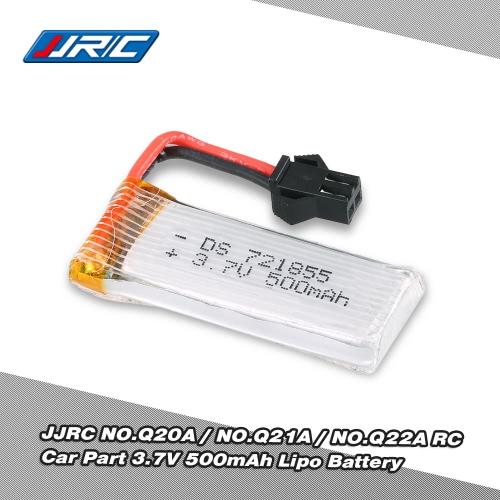 Original JJRC 3.7V 500mAh Lipo Battery for Q20A Q21A Q22A RC Car