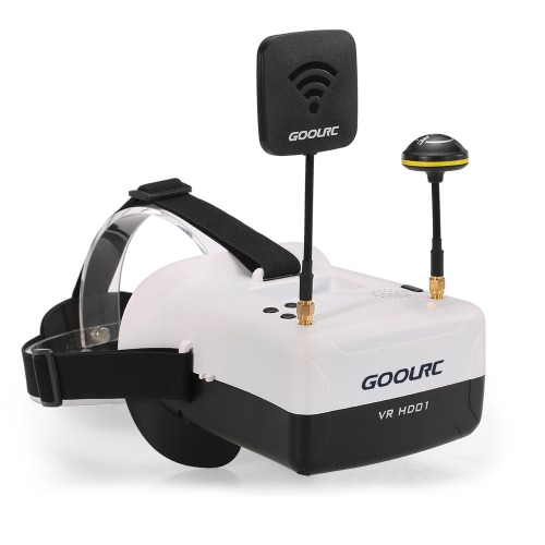 GoolRC VR HD01 Duo Antennas 4.3 Inch 5.8G 40CH FPV Goggles Auto Searching Video Glasses