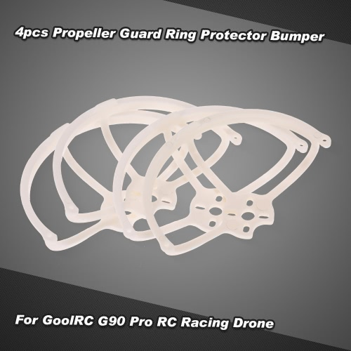 4pcs Propeller Guard Ring Protector Bumper for GoolRC G90 Pro FPV Racing Quadcopter Compatible with 1104 Brushless Motor 1935 Propellers