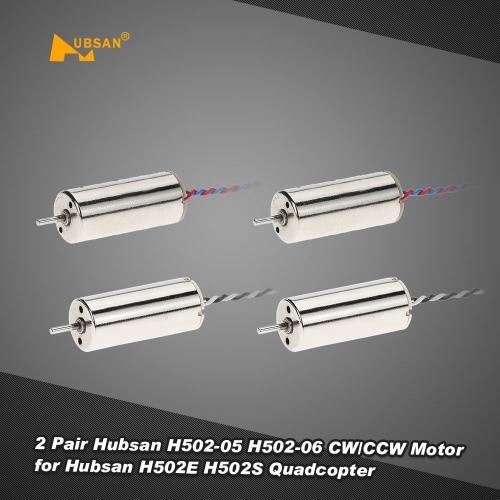 2 Pair Hubsan H502-05 H502-06 CW/CCW Motor for Hubsan H502E H502S RC Quadcopter Drone