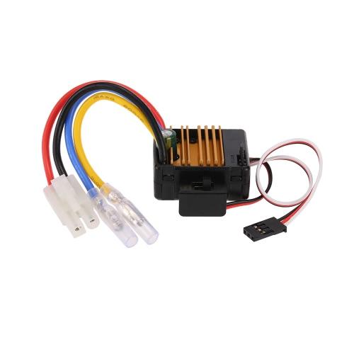 GoolRC 60A Escovou o controlador de velocidade elétrica ESC com 5U / 2A BEC para 1/10 Axial SCX10 RC4WD D90 RC Crawler Climbing Car