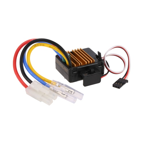 GoolRC 60A Brushed ESC Electric Speed Controller with 5V/2A BEC for 1/10 Axial SCX10 RC4WD D90 RC Crawler Climbing Car
