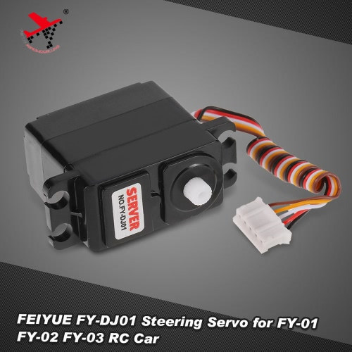 TOMTOP / FEIYUE FY-DJ01 Steering Servo for 1/12 FY-01 FY-02 FY-03 Rock Crawler RC Car Parts