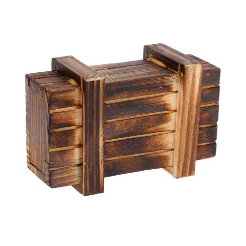 Drewniane pudła dekoracji Akcesoria części