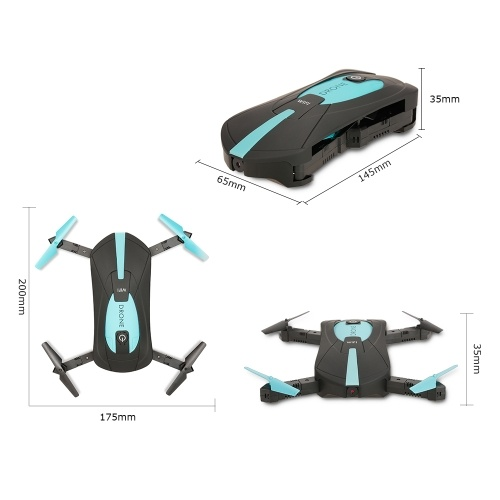 JY018 2.0MP Camera Wifi FPV RC Drone Quadcopter