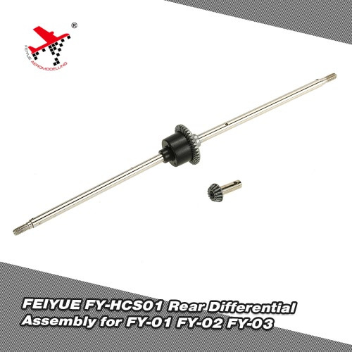 FEIYUE FY-HCS01 Rear Differential Assembly for FEIYUE 1/12 FY-01 FY-02 FY-03 RC Car Spare Parts