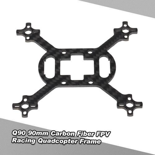 Q90 90mm Carbon Fiber Mini Micro Tiny FPV Racing Quadcopter Frame Kit for 1104 Brushless Motor Indoor Racer
