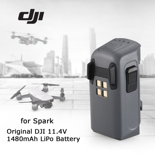 DJI 11.4V 1480mAh LiPo Intelligent Battery for Spark FPV Quadcopter