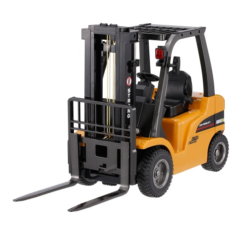 HUINA TOYS 1577 2.4G 8CH 1/10 Alloy Forklift Construction Engineering Vehicle Toy Gift