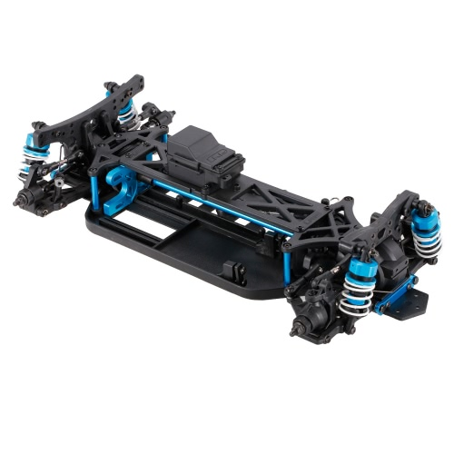 1/10 4WD Elektrisches On-Road Drift Racing Auto Rahmen Kit Chassis