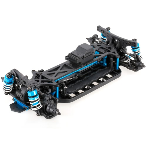 1/10 4WD Eléctrico On-Road Drift Car Racing Kit de chasis Chasis