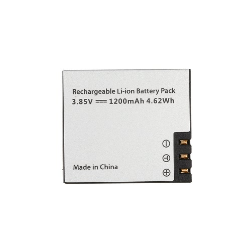 Original Hawkeye Firefly 8S S009R 3.85V 1200mAh Li-ion Replacement Battery Action WIFI Camera Part