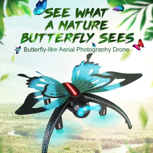 Original JJRC(JJR/C) H42 Butterfly WIFI FPV  0.3MP Camera Quadcopter G-sensor Mini RC Selfie Drone