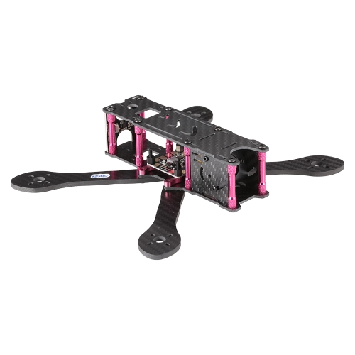 GEPRC GEP-VX5 215mm X-Type 5in Carbon Fiber FPV Racing Drone Quadcopter Frame Kit with XT60 Power Distributor LEDs