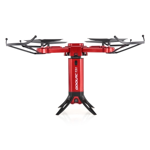 GoolRC T51 Rocket 360 2.4G Wifi FPV 360 Degree RC plegable Quadcopter Drone