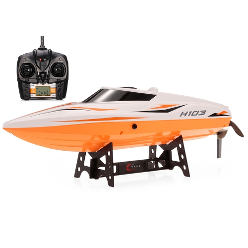 TKKJ H105 (H103) 2.4G 2CH High Speed ​​RC Racing Boat с переключателем режимов Self Righting