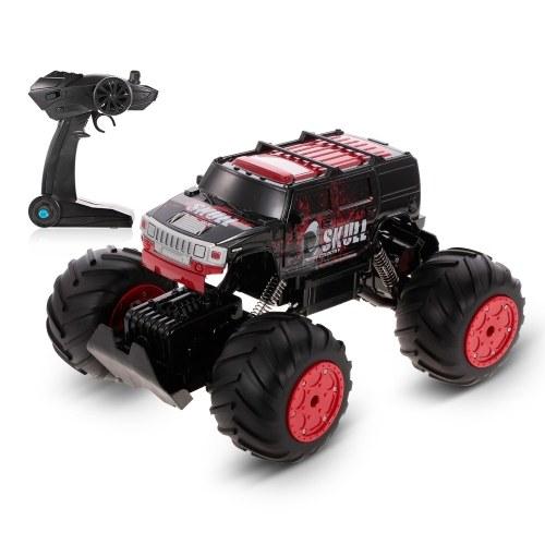 HAOJUN 8812-1 1/12 2.4G 4WD Anfibio 20KM / h de alta velocidad Hummer Rock correa Crawler RC