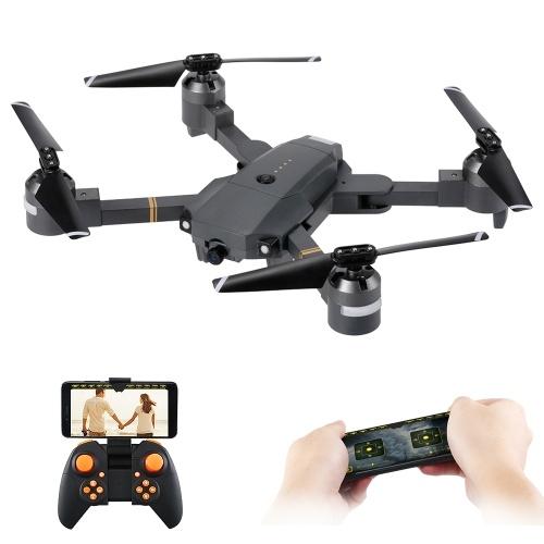 Attop XT-1 WIFI 2.4G 6-osiowy Gyro FPV 2.0MP Kamera 3D odwróć wysokość Trzymaj Składany RC Quadcopter w / dwie baterie