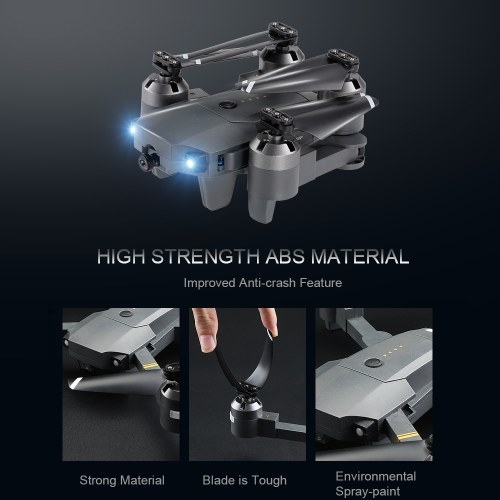 Attop XT-1 WIFI 2.4G 6-axis Gyro FPV 2.0MP Camera 3D Flip Altitude Hold Foldable RC Quadcopter w/ Two Batteries