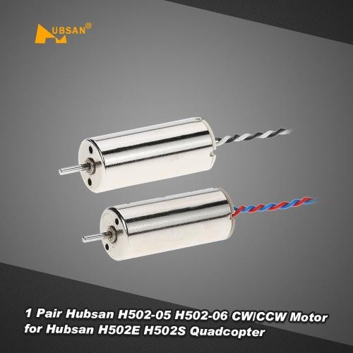 1 Pair Original Hubsan H502-05 H502-06 CW/CCW Motor for Hubsan H502E H502S RC Quadcopter Drone