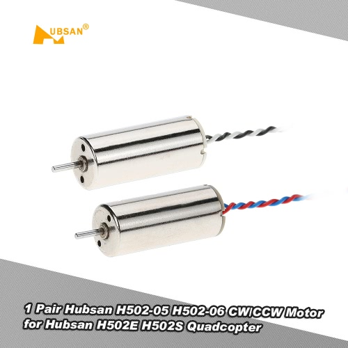 1 Pair Original Hubsan H502-05 H502-06 CW/CCW Motor for Hubsan H502E H502S RC Quadcopter Drone