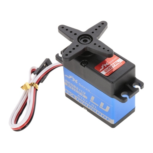 JX DC5821LV 21KG Full Waterproof Digital Metal Servo for 1/10 1/8 RC Car Airplane