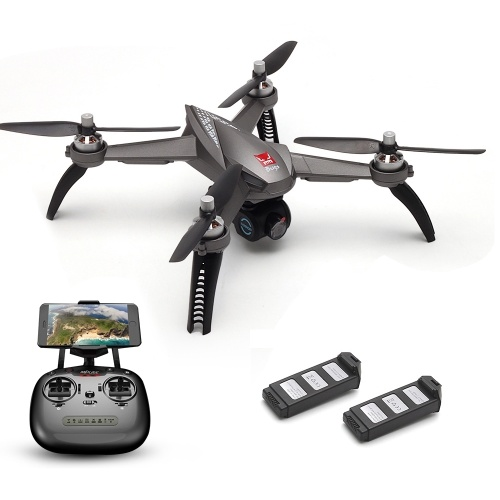 MJX Bugs 5W 1080P  RC Drone w/ Two Batteries