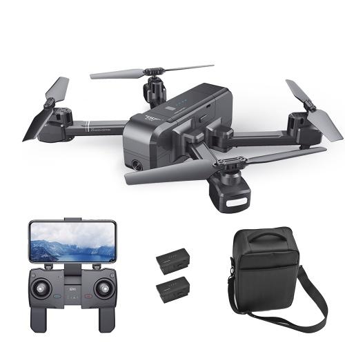SJ R / C Z5 1080P Широкоугольная камера Wifi FPV Drone GPS Auto Возврат Следуйте за мной Жест Фото RC Quadcopter w / 2 Аккумулятор и сумка