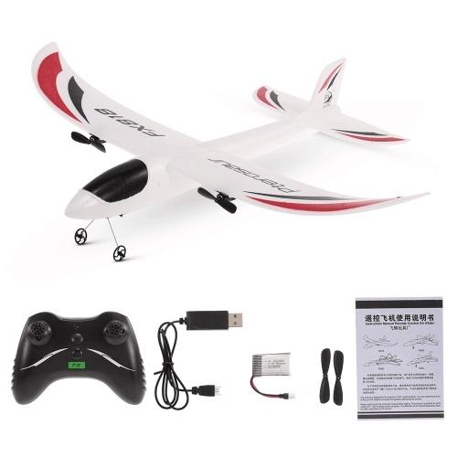 FX-818 2.4G 2CH 480mm Envergadura Planador De Controle Remoto Asa Fixa Avião RC Aeronave RTF