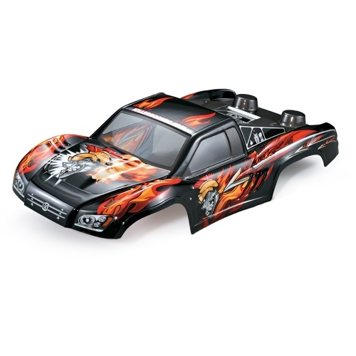 KillerBody 48035 327mm Curso Curto Caminhão Acabado Corpo Shell Frame para 1/10 Traxxas HPI AE RC Drift Car Racing DIY