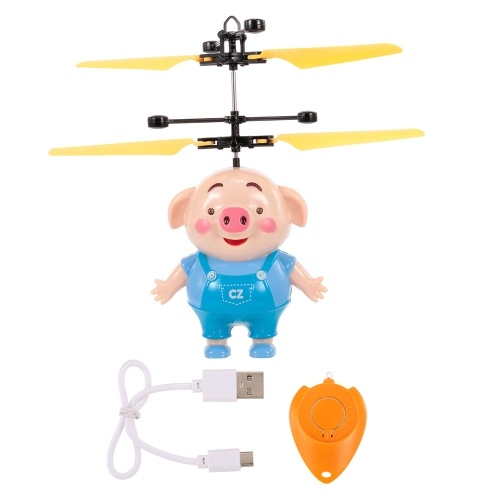 Mini Flying Piggy Infrared Induction Drone