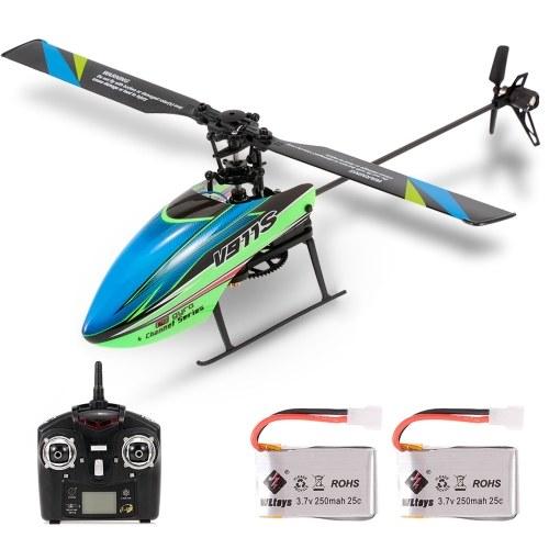 WLtoys V911S 4CH 6G Nicht-Querruder RC Hubschrauber