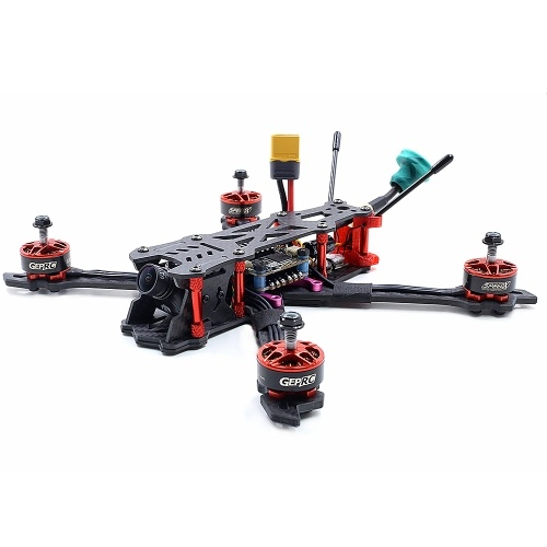 GEPRC Mark2 BNF с приемником Frsky R-XSR 230 мм 2-5S 40A BLHeli_s 600TVL Full 3K Carbon Fiber FPV Racing Drone